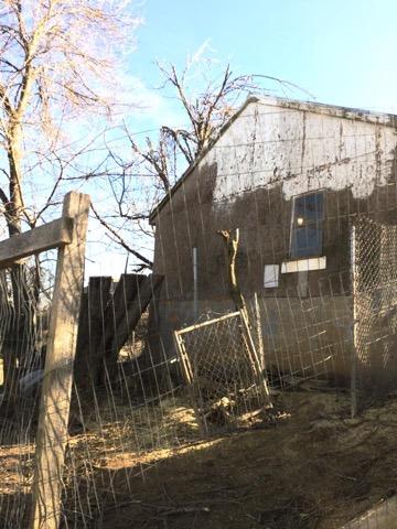 Tree Fallen On Fence In Lusby Md